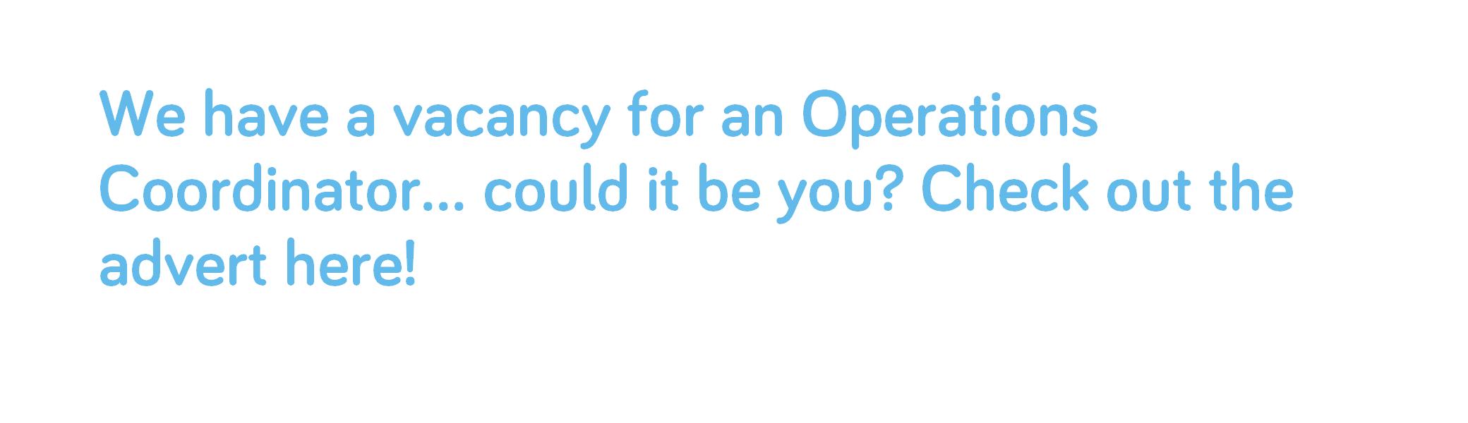 operations coordinator