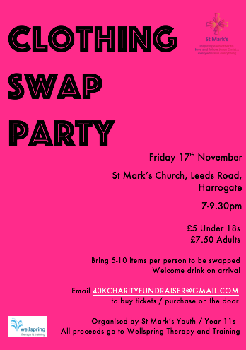 clothes swap event St Mark's
