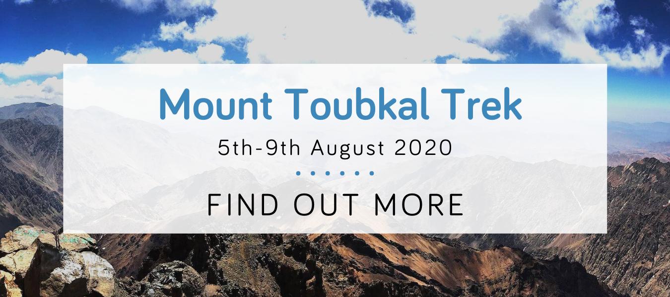 Mount Toubkal Trek challenge 2020