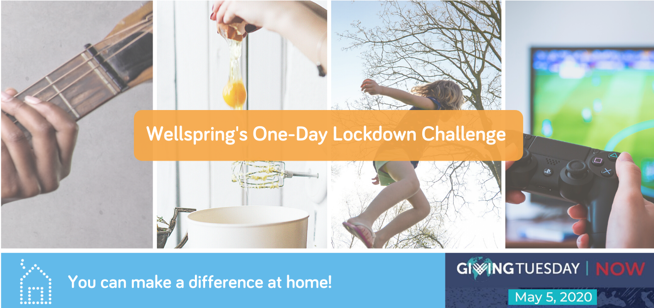 One Day Lockdown Fundraising Challenge for Wellspring