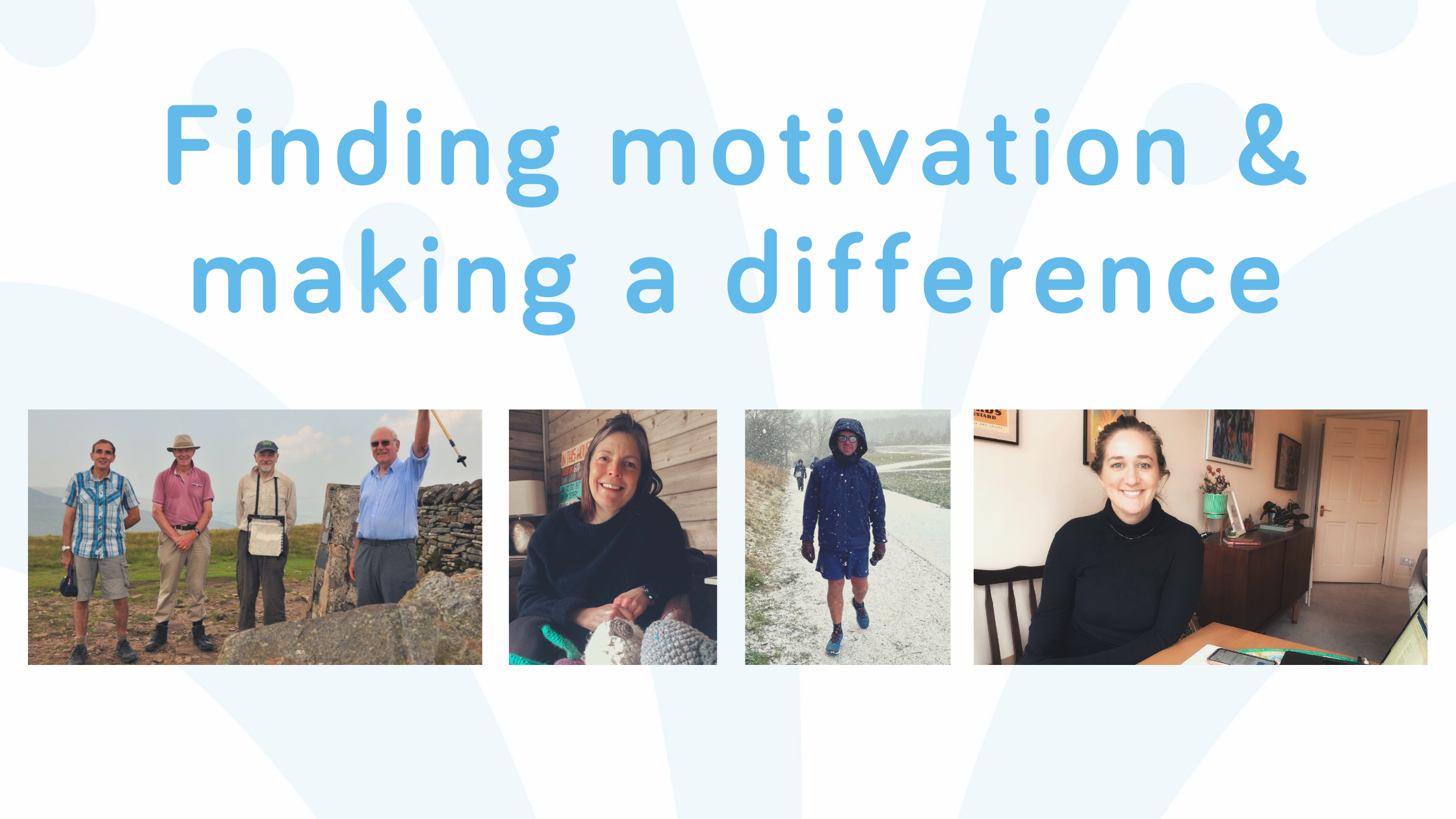 finding motivation - fundraising for Wellspring