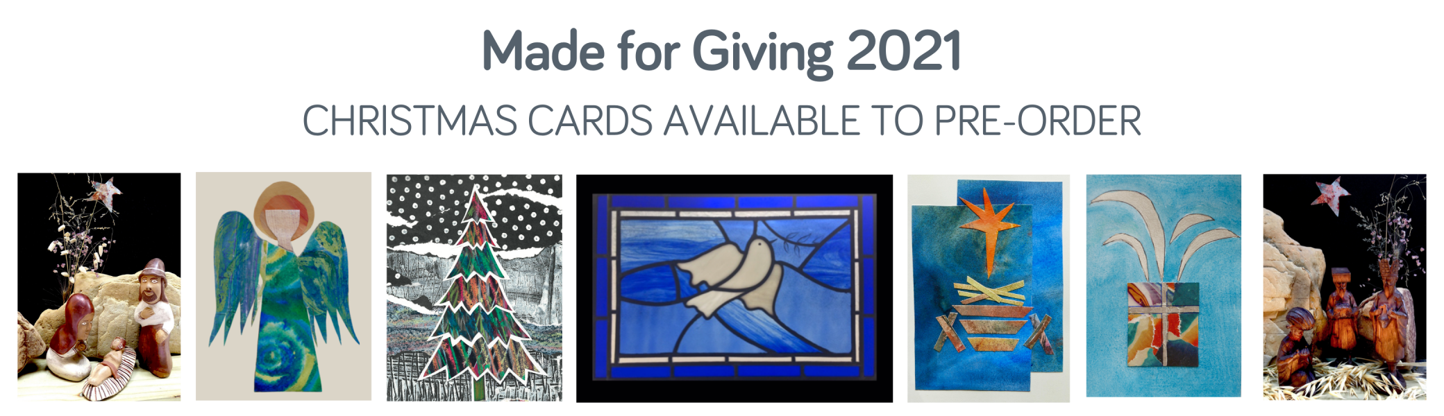 Made for Giving 21 preorder cards - wellspring